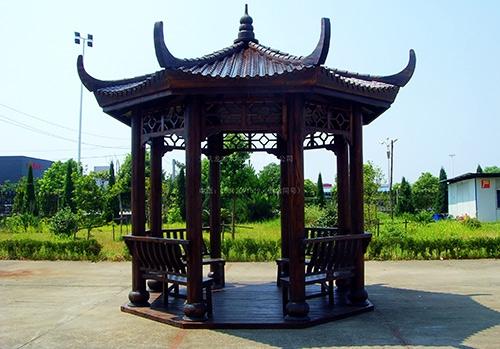 湖南防腐木凉亭