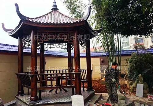 重庆防腐木凉亭
