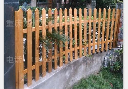 重庆防腐木栏杆